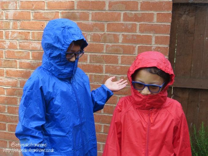 dry kids waterproof jacket wet