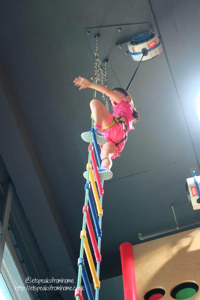 Clip n Climb at Tampines Hub HomeTeamNS ladder