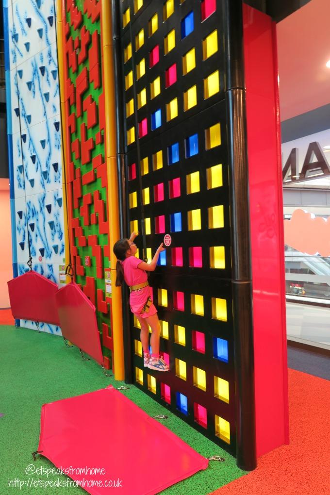 Clip n Climb at Tampines Hub cube