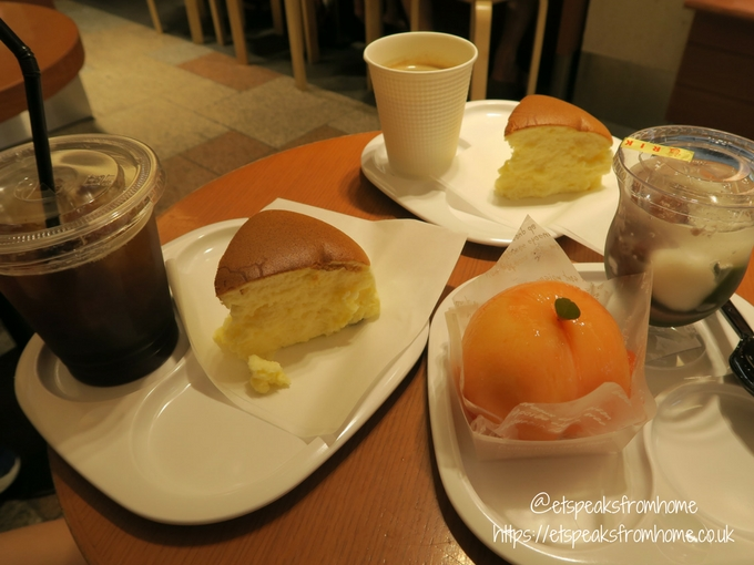 Foods to try in Osaka Cheesecakes
