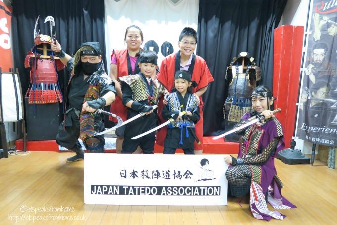 Learning Samurai in Osaka - Japan Tatedo Association