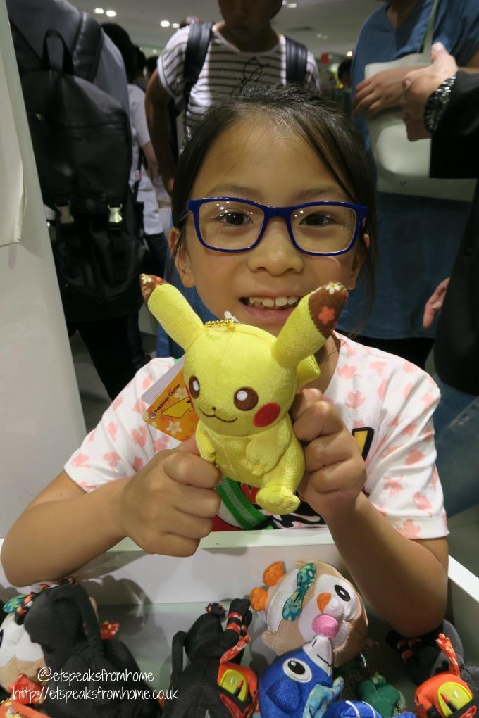 Pokémon Center in Osaka pikachu