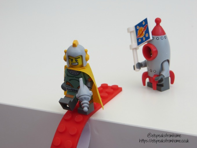 Sticky Brick Tape Review lego figures