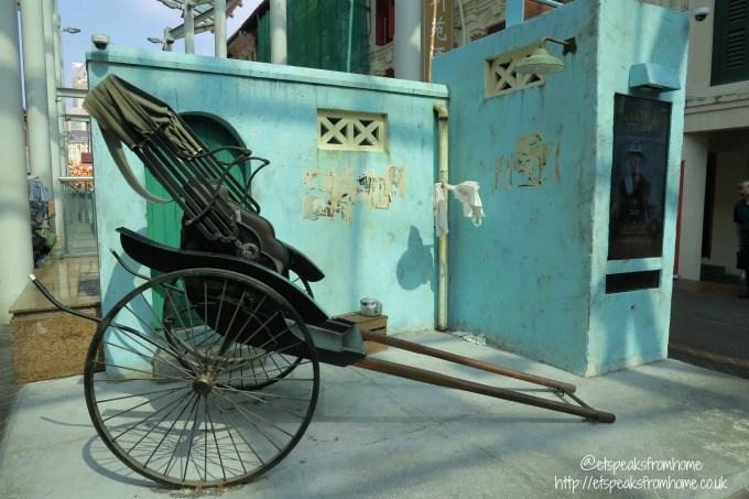 singapore chinatown trishaw