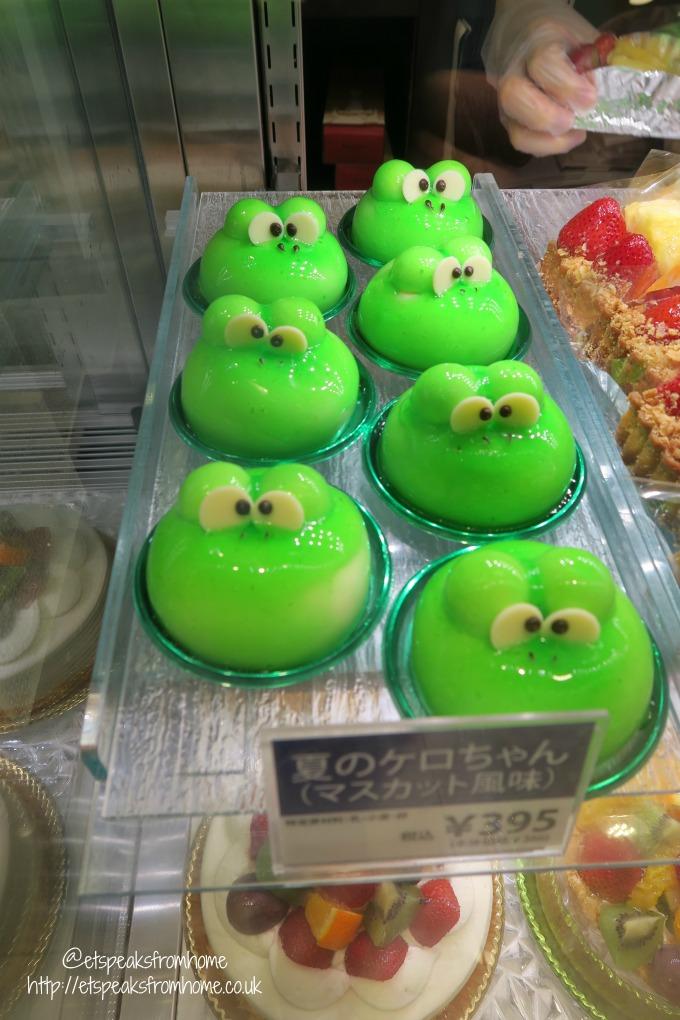 osaka dessert frog jelly