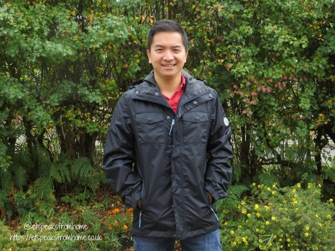 Autumn with Jacamo Menswear jacket review