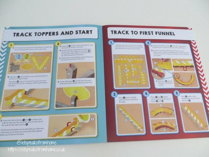 Master Builder Roller Coaster Marble Run instructions