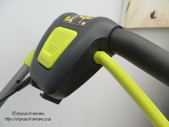 Ryobi 36V fusion lawnmower handle switch