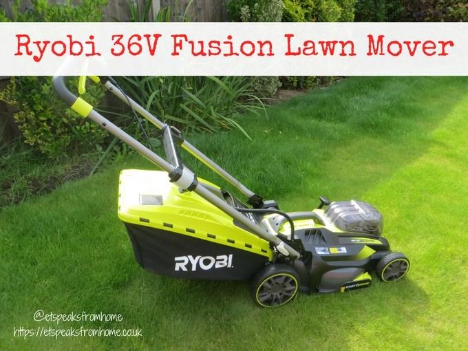 Ryobi 36V fusion lawnmower review