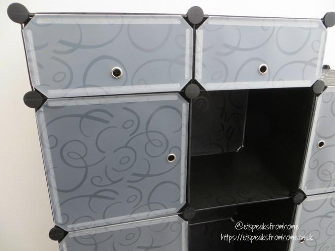 Songmics Cabinet Storage Organiser shelves