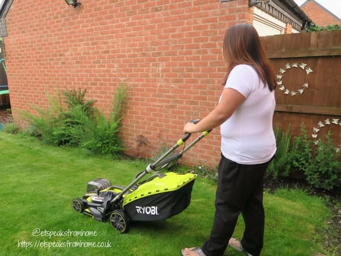 ryobi 36v cordless lawnmower garden