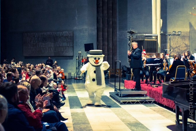 the snowman tour coventry Photography © Gareth Widdowson