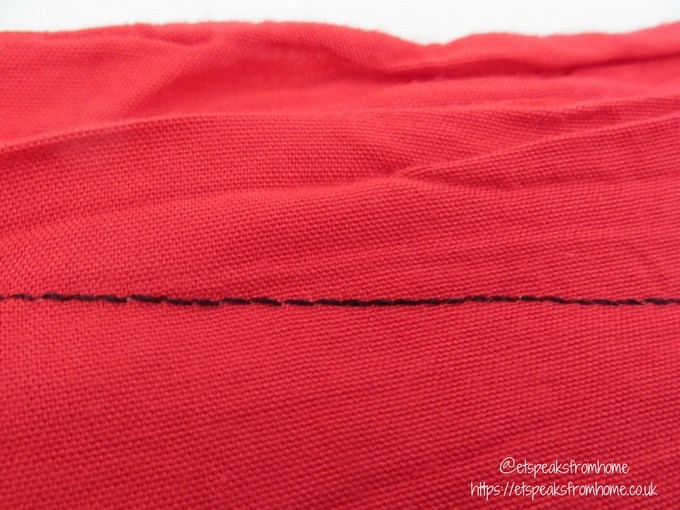 GB Sewing Bee Sewing Machine stitch