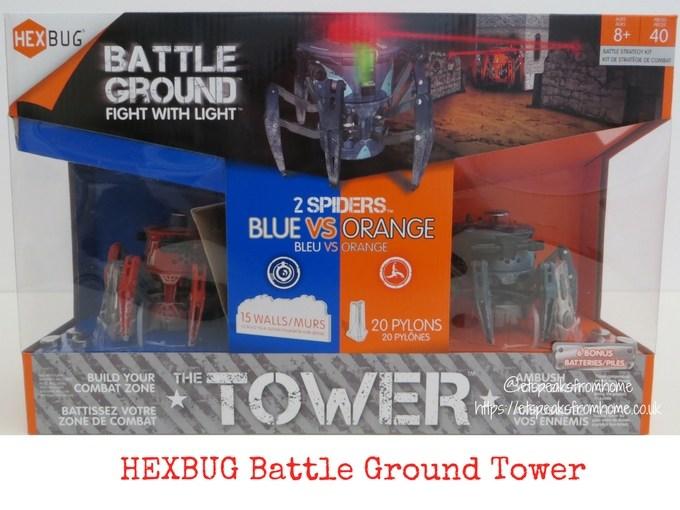 HEXBUG Battle Ground Tower Review