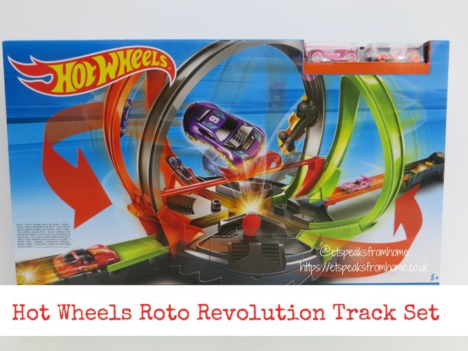 Hot Wheels Roto Revolution Track Review