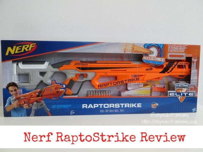 Nerf N-Strike Elite AccuStrike RaptorStrike review