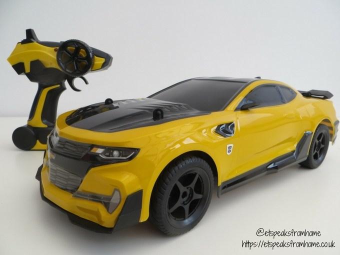Transformers radio control bumblebee front