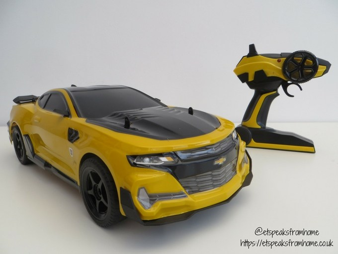 Transformers radio control bumblebee side