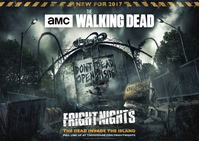 Walking Dead mazes open at Thorpe Park