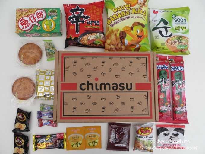 chimasu october unboxing
