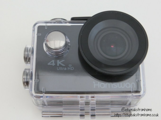 hamswan action camera water casing