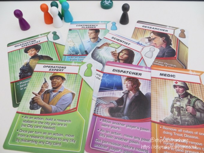 pandemic board game cards