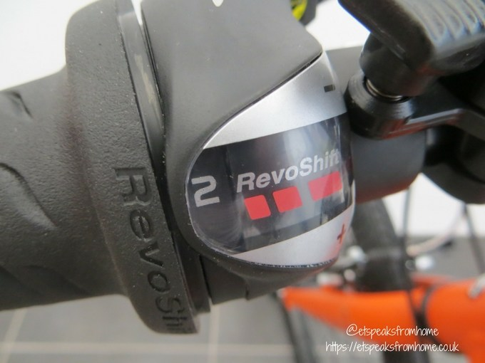 Carrera Abyss Junior Hybrid Bike speed