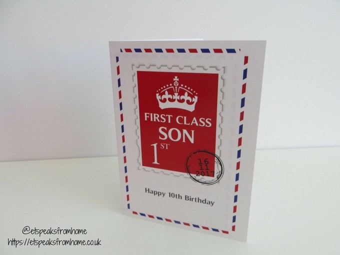 Personally Presented card