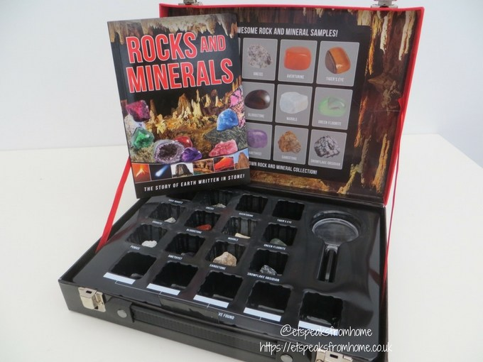Scholastic Christmas Gift Guide rocks and minerals