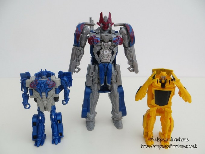 Transformers The Last KnightTurbo Changer Optimus Prime Bumblebee robot