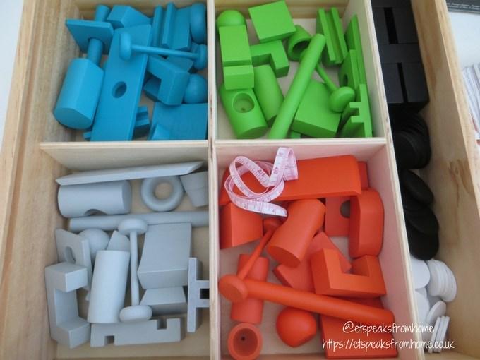 junk art wooden bits
