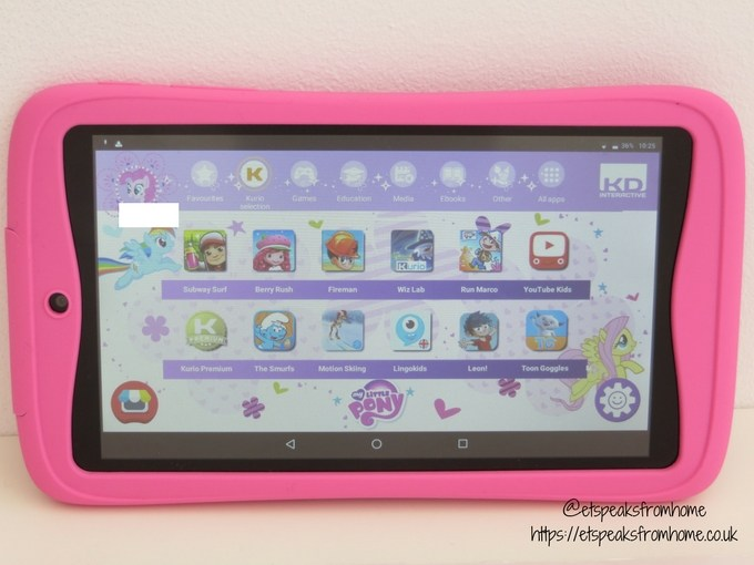 kurio tab advance child profile