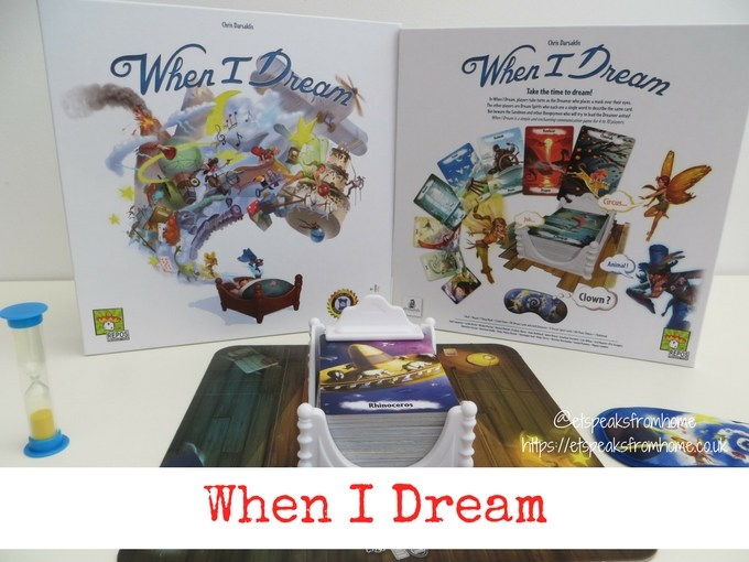 When I Dream Board Game Review - ET Speaks From Home