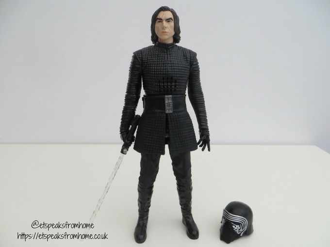 Kylo Ren Interactech Figure with helmet