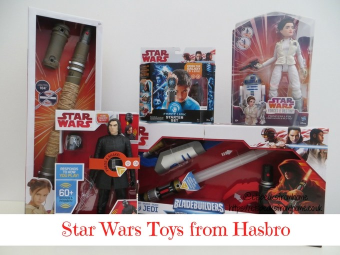 Star Wars Bring The Galaxy To Life with Hasbro Star Wars Toys