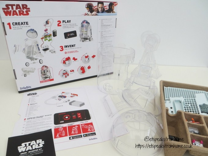 littleBits Star Wars Droid Inventor Kit building