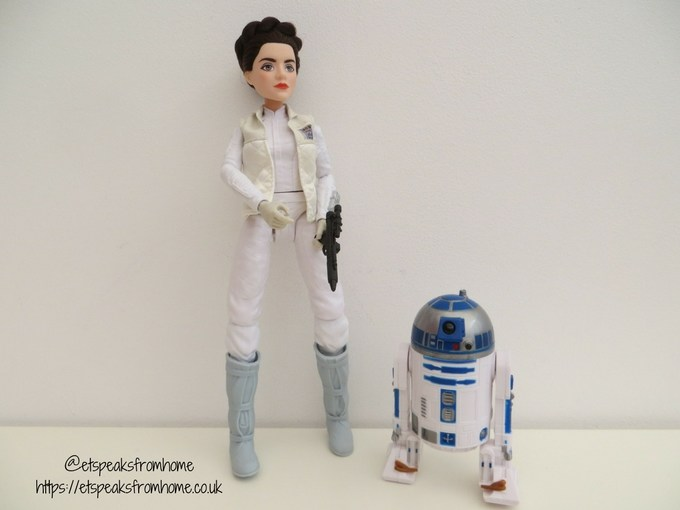 star wars Princess Leis Organa & R2-D2