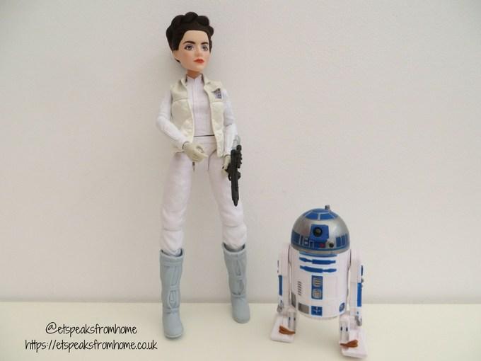 star wars Princess Leis Organa & R2-D2