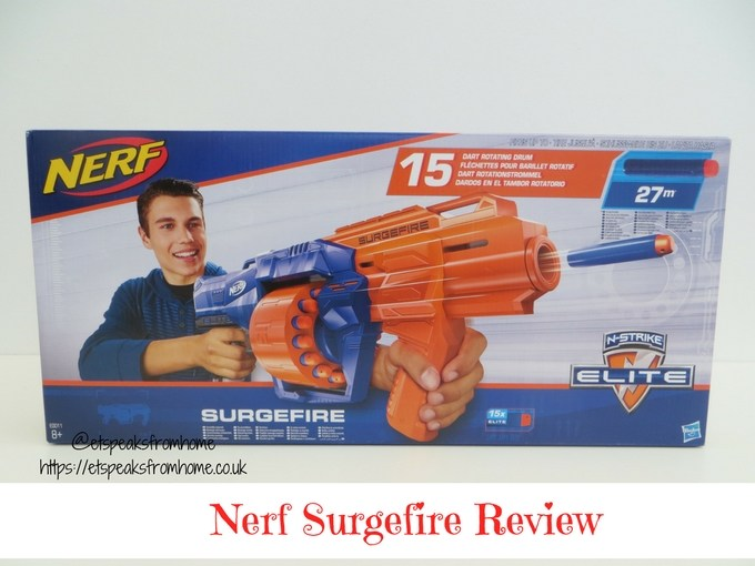 Nerf N-Strike Elite Surgefire Review