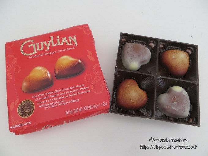Valentine's Day with Guylian Belgian Chocolate heart