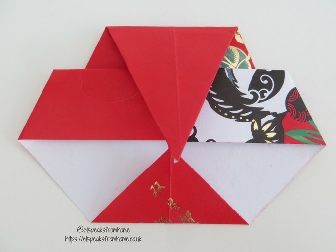 Ang Pow Origami Dog chinese new year 2018 step 6