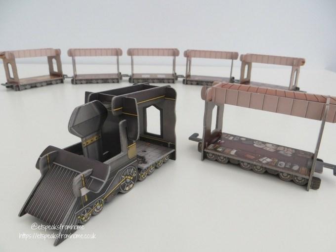 colt express 3d train