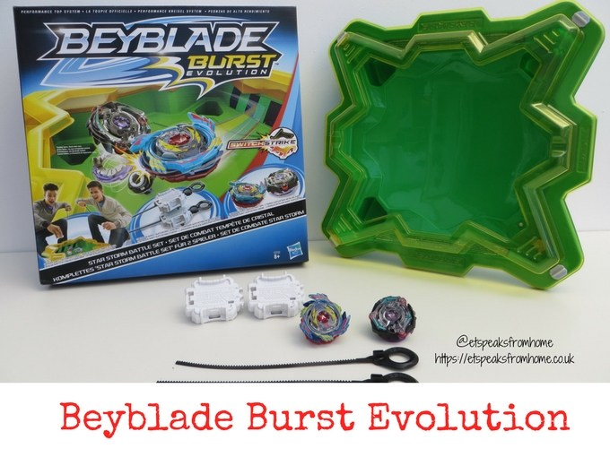 Beyblade Burst Evolution Star Storm Battle Set Review