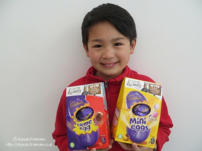 Chinese Easter Word Hunt with Peter Rabbit easter eggs