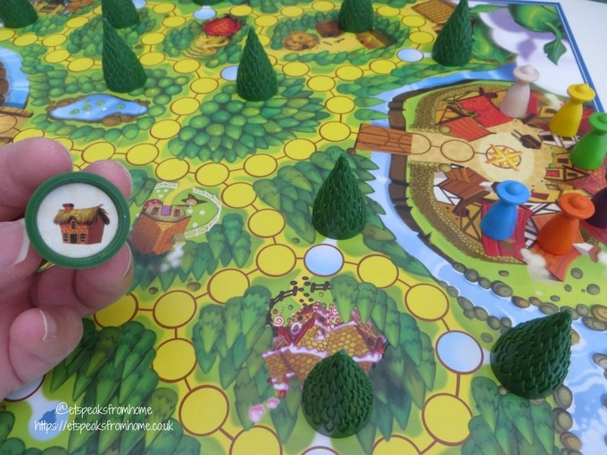 Enchanted Forest Board Game tree