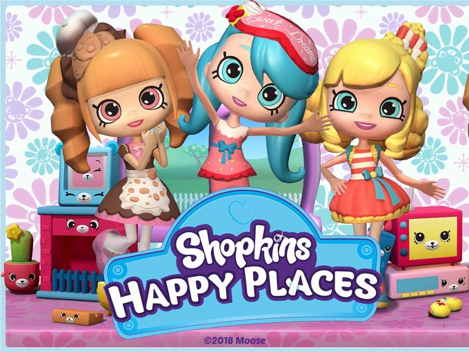 Shopkins Happy Places App Review