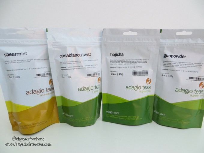 adagio teas review loose tea in bag