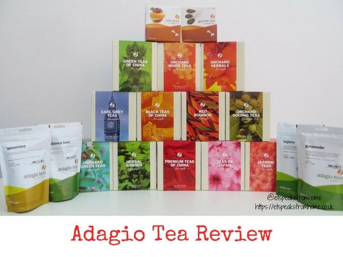 adagio teas review