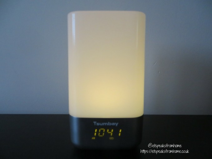 tsumbay wake up light alarm clock light