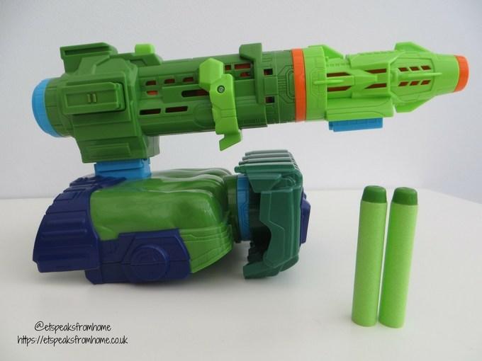 Nerf Assembler Gear Hulk with connector